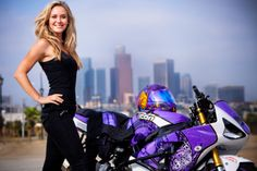 An interview with motorcycle stunt rider, Leah Petersen. Also, high-res images and videos...
