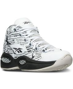4500385563a4 Reebok Boys  Question Mid Basketball Sneakers from Finish Line Kids -  Finish Line Athletic Shoes - Macy s