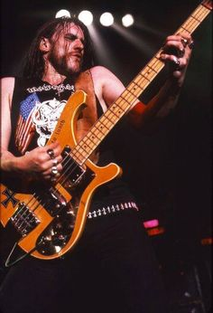 Lemmy doing what he does best.