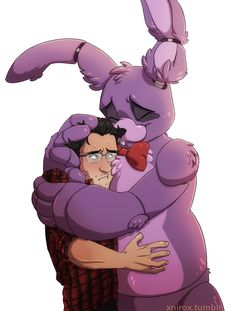 Five nights at Freddy's (Smut/one shot) - Markiplier and Bonnie hug - Page 1 - Wattpad