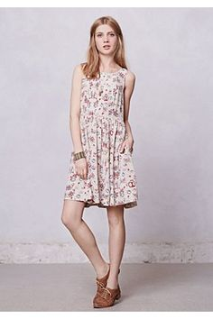 Kanshi Dress by HD In Paris (Teacups and Saucers print) from Anthropologie