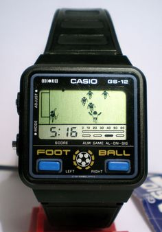 Casio Game Watch - Discover wearable watches here to get smart gear and wearables that really work with your lifestyle at: topsmartwatchesonline.com