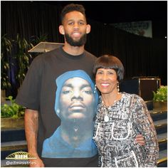Allen Crabbe, NBA player for The Portland Trailblazers and grandson of Apostle & Dr. Betty Price, shared his testimony and offering today at church which was such a blessing! #CCC #EIFMinistries #SundayService #bmosa2016