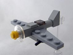 Micro Military Made out of LEGO Bricks - custom lego - Lego Mecha, Lego Design, Avion Lego, Modele Lego, Lego Plane, Lego Guns, Micro Lego, Lego Craft, Lego Room
