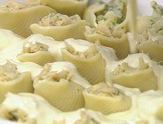 Conchiglione de Bacalhau | Peixes e frutos do mar > Receitas de Bacalhau | Mais Você - Receitas Gshow