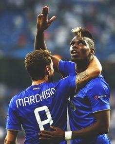 Claudio Marchisio - Paul Pogba || #Juventus