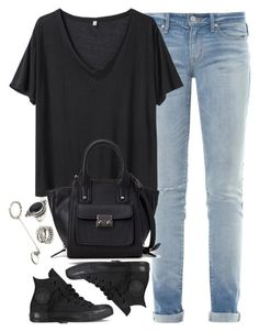"""Untitled #2716"" by london-wanderlust ❤ liked on Polyvore featuring Marc by Marc Jacobs, R13, Forever 21 and Converse"