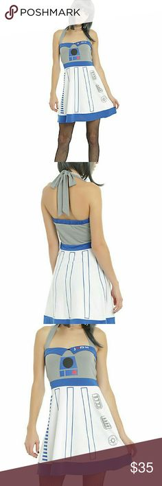 R2d2 cosplay dress Star wars R2d2 cosplay dress Star Wars Dresses Midi