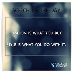 CITÁT NA DNEŠNÝ DEŇ #STYLE #FASHION #BEUNIQUE #PEKNÝDEŇ #MÓDA #SELECTAFASHION Luxury Lifestyle, The Selection, Unique, Stuff To Buy, Fashion, Moda, Fashion Styles, Fashion Illustrations