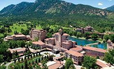 Colorado Resorts   Colorado Springs Resorts   The Broadmoor