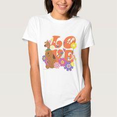 "Scooby Doo ""Love"". Regalos, Gifts. #camiseta #tshirt"