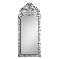 """Renwil Venetian Mirror 43"""" x 19"""" - MT1020"""