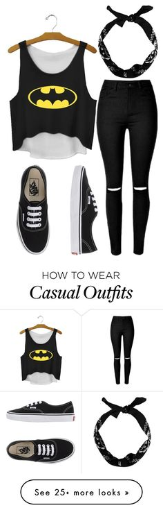 """Casual Lazy outfit"" by kita-16 on Polyvore featuring Vans, women's clothing, women, female, woman, misses and juniors"