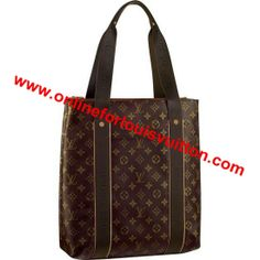 5d7dd7a1a6d LOUIS VUITTON MONOGRAM CANVAS CABAS BEAUBOURG M53013 -Natural cowhide  leather and textile trimmings -Interior