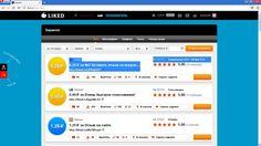 Сайт для заработка денег (200-400 рублей в день) Liked.ru