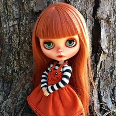Lucy, one of my customs. #blythe #customblythe #faceup #repaint #blythedoll