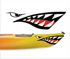 Shark Teeth Mouth Decal Stickers Kayak Canoe Jet Ski Hobi... https://www.amazon.com/dp/B012JJ0JN2/ref=cm_sw_r_pi_dp_x8kCxbZ4HKYR8