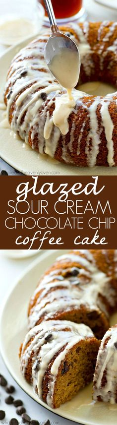 The absolute BEST classic sour cream coffee cake you'll ever have! Studded with…
