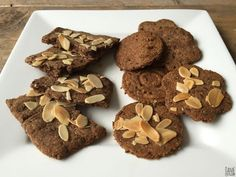Wednesday Challenge Day Speculaas cookies and speculaas chunks Low Carb Recipes, Dog Food Recipes, Pie Cake, Healthy Sweets, Sugar Free, Keto, Lchf, Paleo, Food And Drink