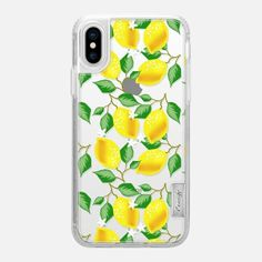 Tropical Lemons - Classic Grip Case Coque Iphone, Phone Covers, Iphone 8 Plus, Tech Accessories, Summer Fun, Mobile App, Iphone Cases, Tropical, Apple