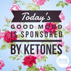 Nothing like deep ketosis to get my mood in check #ketogenicdiet #keto #ketogenic #ketosis #atkinsdietpictures