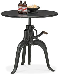 Make A Statement. Impress For Less With This Exceptional Derrik Adjustable  Crank Table. Sure