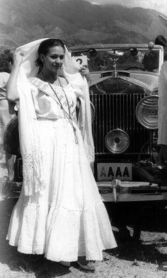 Traje de Llanera - María de Las Casas para el Miss Universe 1965...