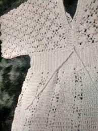 Resultado de imagem para bata de crochê