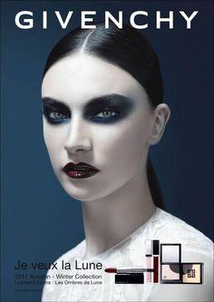 Jacquelyn Jablonski Givenchy Beauty Fall 2011 (Givenchy)