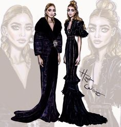 Hayden Williams Fashion Illustrations: Met Gala 2015 by Hayden Williams