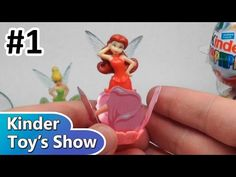 Феи Диснея, Киндер Сюрприз 2014 (Disney Fairies, Kinder Surprise 2014) - Часть 1 - 28.08.2014