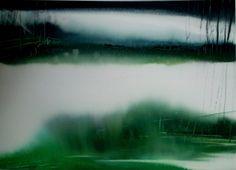 Aquarel Liliane Goossens: Aquarel Abstract Landscape Painting, Abstract Watercolor, Landscape Paintings, Abstract Art, Watercolor Painting Techniques, Ink Painting, Watercolor Paintings, Outdoor, Inspiration