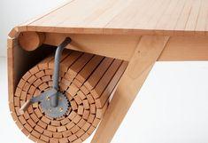 оригинальный раздвижной стол
