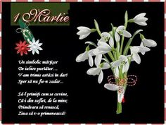 8 Martie, 1. Mai, Holiday Traditions, Spring Time, Happy Birthday, Ads, Prints, How To Make, Beautiful