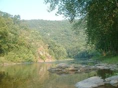 The Raystone Branch of the Juniata River.