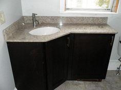 ideas bathroom mirror cabinet corner vanity for 2019 Corner Bathroom Vanity, Bathroom Mirror Cabinet, Mirror Cabinets, Bathroom Cabinets, Bathroom Furniture, Small Bathroom, Master Bathroom, Corner Mirror, Bathroom Tiling