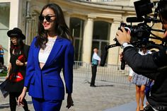 Street style shot by Phil Oh #pfw