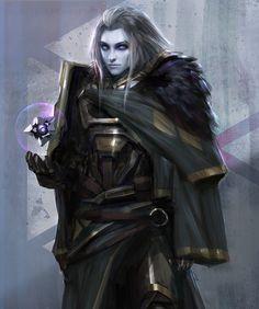 ArtStation - Destiny Fanart - Mara Sov, Queen of Titans, Johnson Ting