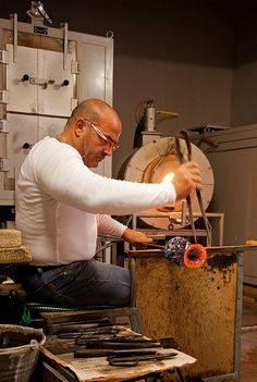 Murano Glass Craftsman, Murano, Italy - go to Murano and see the glass artists at work!!!
