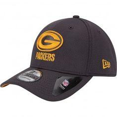 51e6e2ee00b Green Bay Packers New Era NFL Tech Grafpop Classic Stretch Cap (Gray) Green  Bay