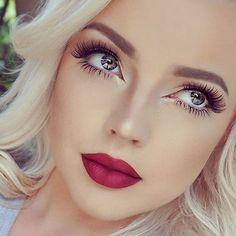 That kind of lip color is so perfect for #Spring, love it! #Makeup #LipColor #SpringMakeup #MakeupIdeas #NaturalMakeup