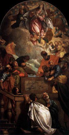 Assumption of the Virgin, 1586 Paolo Veronese