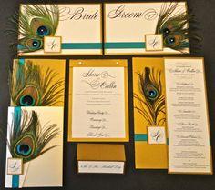 Customized Wedding Programs Table Numbers by 1OfAKindCustomDesign, $25.00