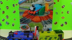 Thomas and Friends Tidmouth Turntable Expansion Pack Review by BluAndBlo
