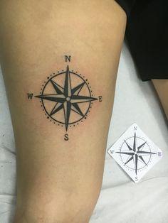 North South East West, Left Arm Tattoos, Wrist Band Tattoo, Skin Art, Compass Tattoo, Tattoo Images, Tattoos For Women, Tatoos, Tatting