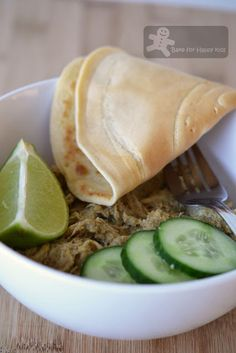 Poh's Chicken Rendang with Coconut Pancakes