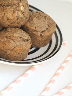 Vegan moist banana muffins