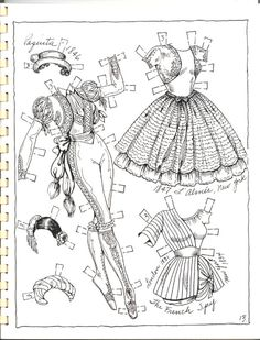 Posts about Artist drawn paper dolls – Charles Ventura – Ballet Book 2 written by Marlendy Colouring Pages, Adult Coloring Pages, Coloring Books, Ballet Books, Diy And Crafts, Paper Crafts, Paper Dolls Printable, Dibujos Cute, All Paper