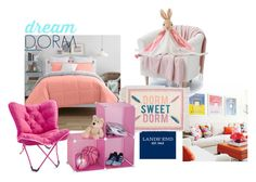 """""""Design Your Dream Dorm with Lands' End: Contest Entry"""" by aulyputri on Polyvore"""