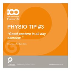 Good posture is an all day exercise #physiotips #100years